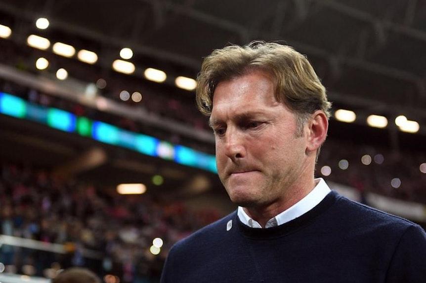 Ralph Hasenhüttl steht derzeit einigermaßen unter Druck bei RB Leipzig.