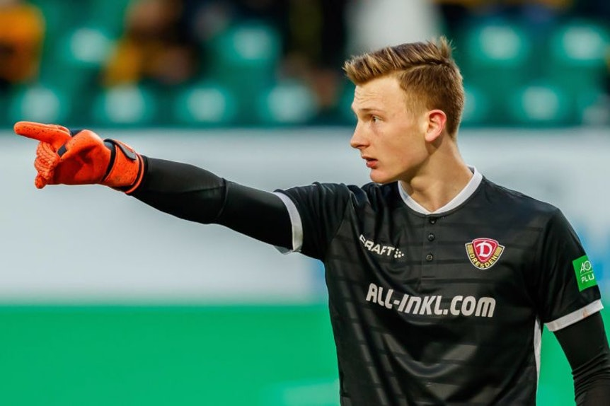 Für Markus Schubert geht der Weg in Richtung Bundesliga.