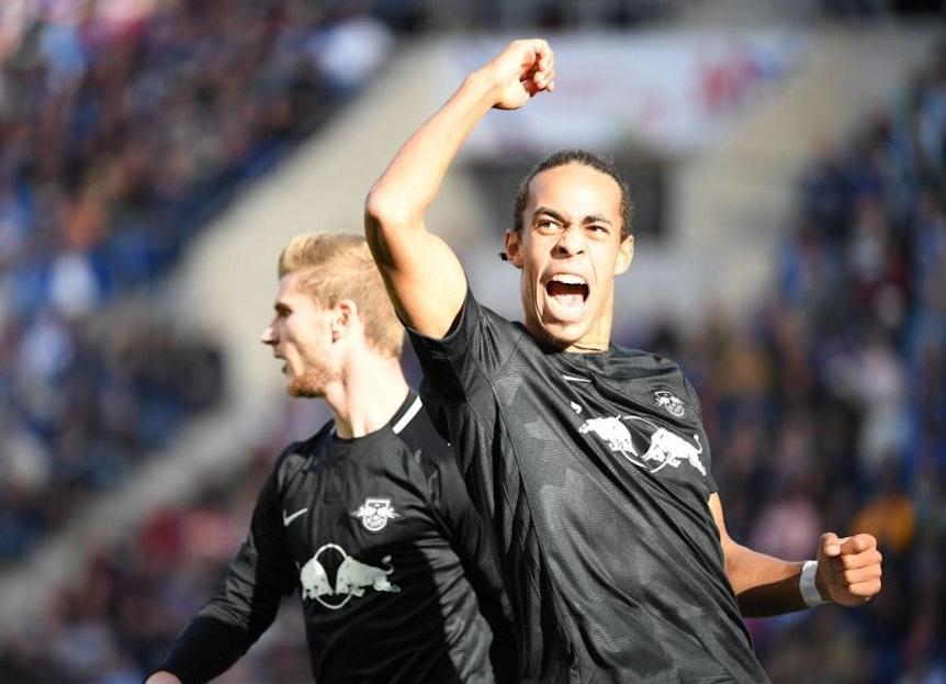 Dreizehn Spiele für RB Leipzig, sieben Saisontreffer: Yussuf Poulsen