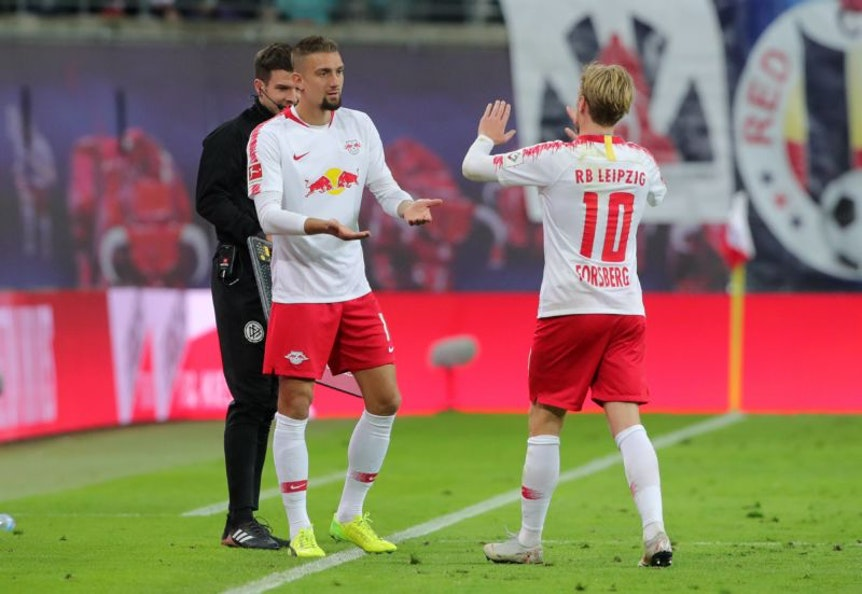 Stefan Ilsanker und Emil Forsberg werden im letzten Heimspiel nicht mitwirken können.