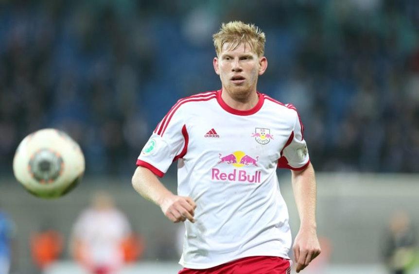 Fabian Franke, so wie man ihn bei RB Leipzig nur bis 2014 zu sehen bekam.