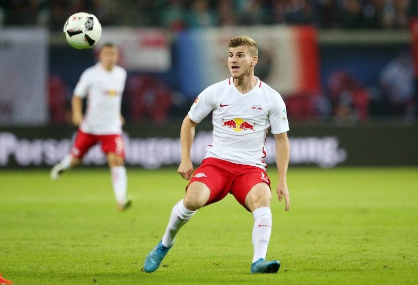 Zum Bundesligastart RB Leipzigs bester Torschütze: Timo Werner