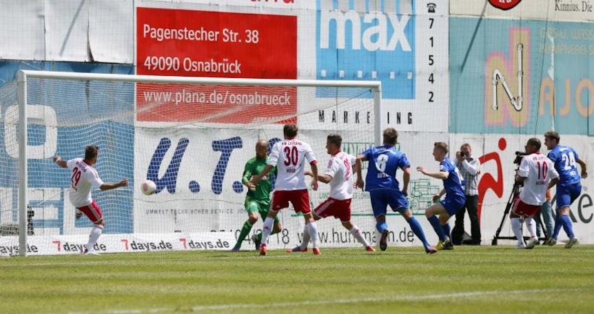 RB Leipzig gelang 2013 der Aufstieg in die 3. Liga.
