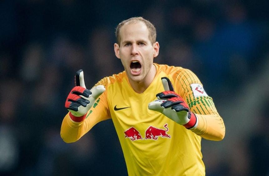 Erster Gegentreffer in der Bundesliga nach 499 Minuten: Peter Gulacsi.