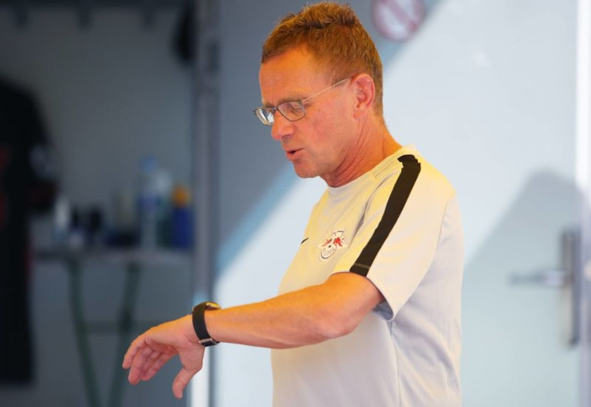 In Eile: RB-Trainer Ralf Rangnick.