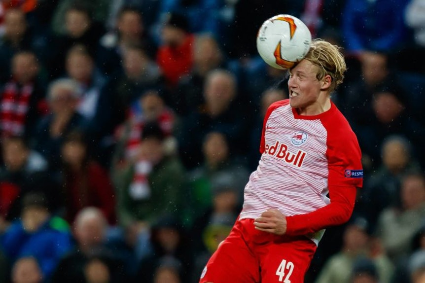 Xaver Schlager wird seinen Kopf offenbar künftig für RB Leipzig einsetzen.
