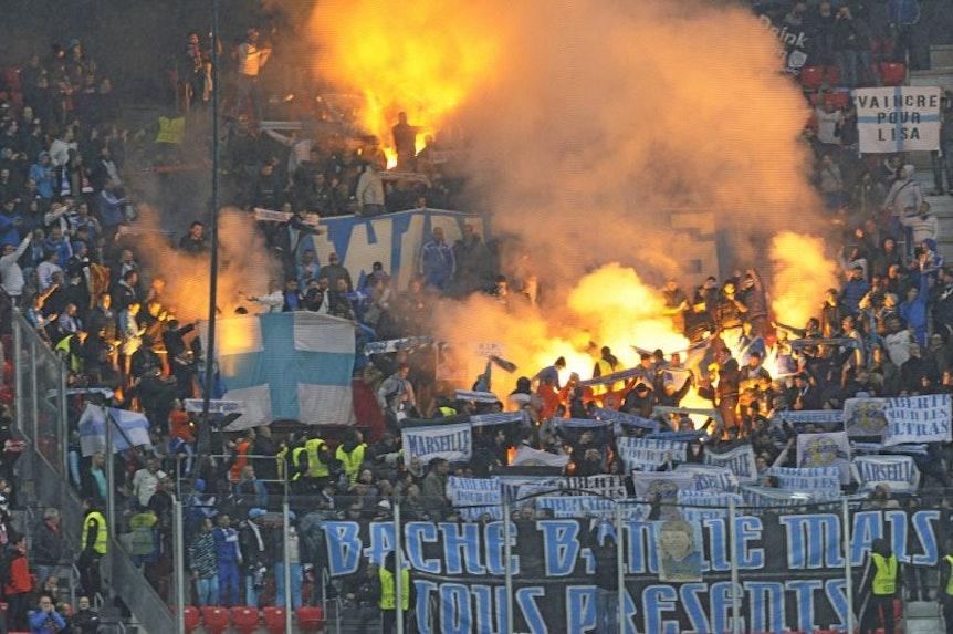 Olympique Marseille darf keine Karten für das Spiel bei RB Leipzig verkaufen.