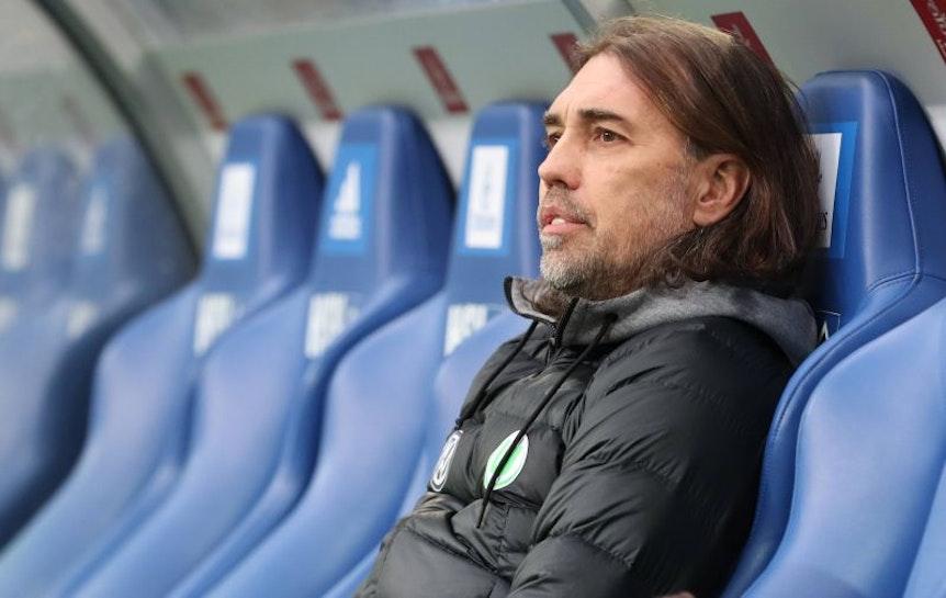 Martin Schmidt kann gegen RB Leipzig beim VfL Wolfsburg auf seine Stammformation zurückgreifen.