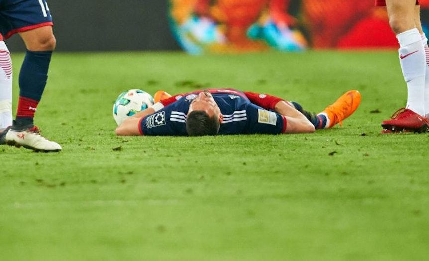 Der FC Bayern München verliert gegen RB Leipzig: Dieses Bild sähen am Wochenen viele Leipziger gerne wieder. Symbolfoto: imago/Picture Point LE