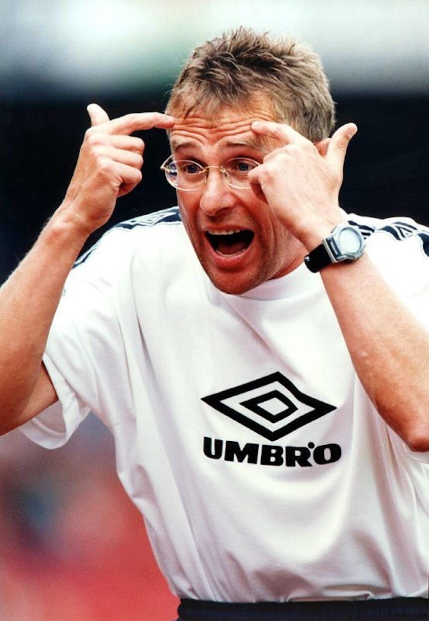 In Ulm versucht Ralf Rangnick den Spielern zu vermitteln, dass sie den Kopf einschalten müssen.