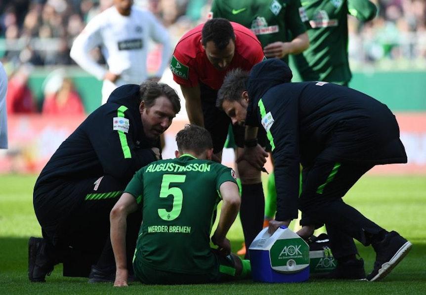 Augustinsson muss bei Werder Bremen noch weiter passen.