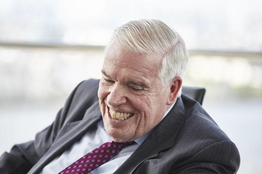 Klaus-Michael Kühne glaubt nicht an den Pokalsieg.