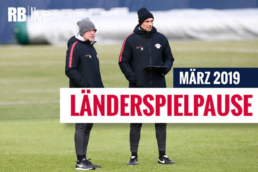 Länderspielpause bei RB Leipzig.