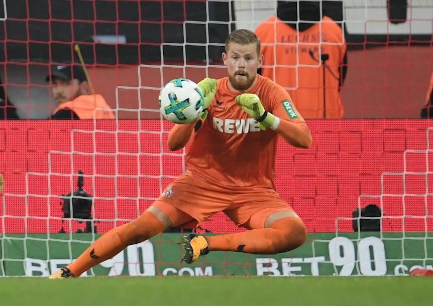 Wenn es nach Ralph Hasenhüttl geht, soll sich Timo Horn beim Spiel seines 1. FC Köln bei RB Leipzig nicht über Langeweile beklagen müssen.