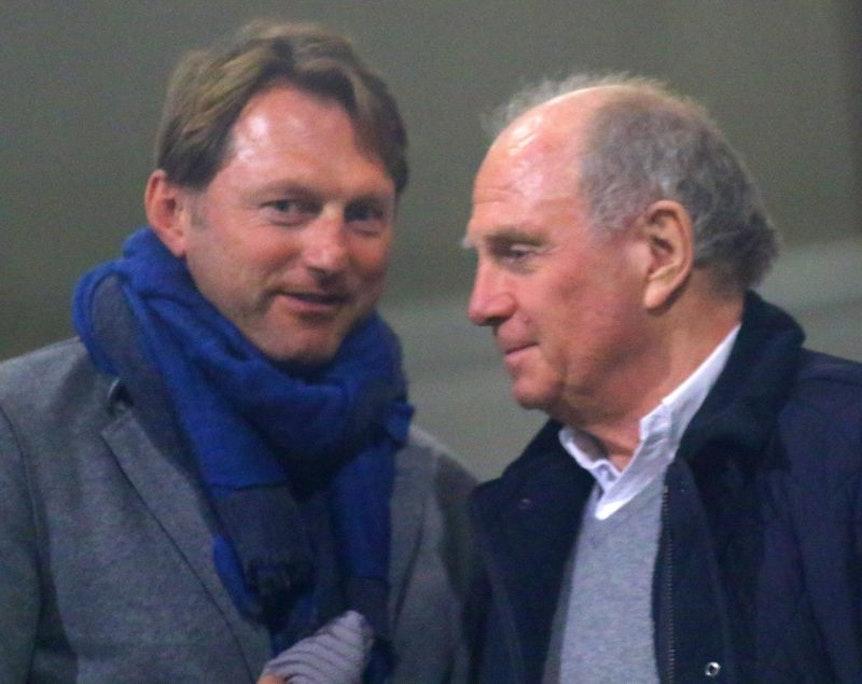 Ralph Hasenhüttl und Uli Hoeneß kennen und schätzen sich.