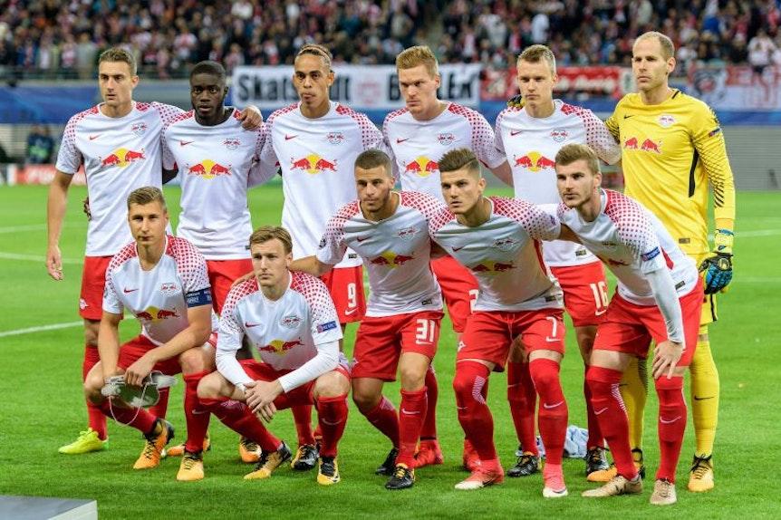 RB Leipzig mit einem Champions-League-Team aus der zweiten Liga.