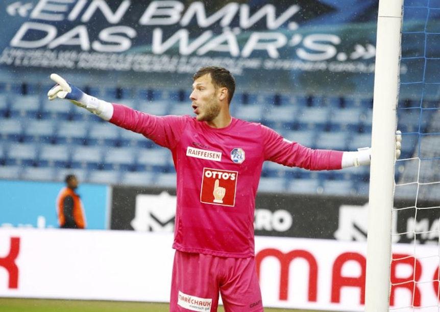 Marius Müller blieb bislang ohne Gegentor in Luzern.