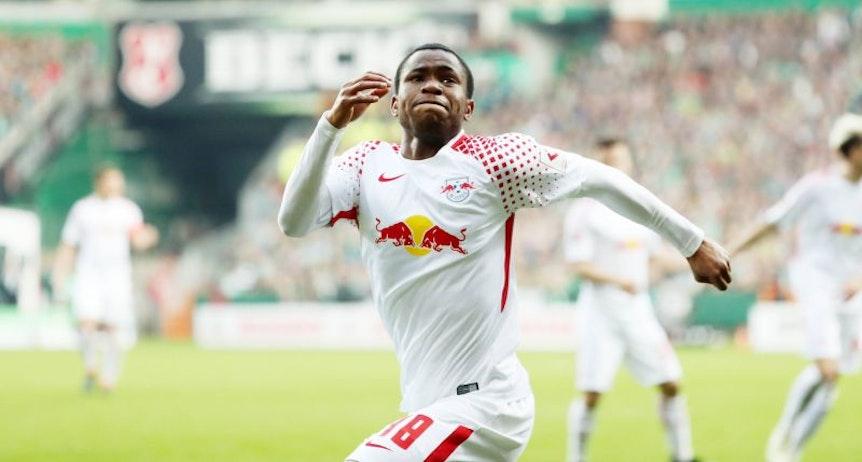 Ademola Lookman sicherte RB Leipzig einen Punkt bei Werder Bremen.