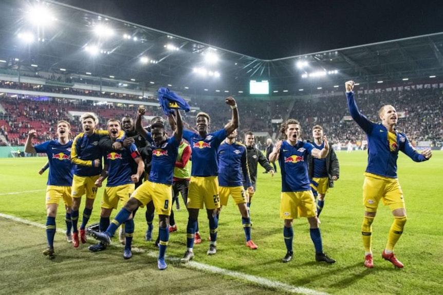 Lastminutesieger RB Leipzig.