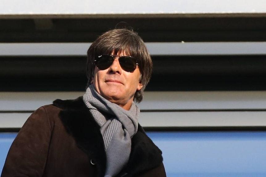 Bundestrainer Joachim Löw in Leipzig