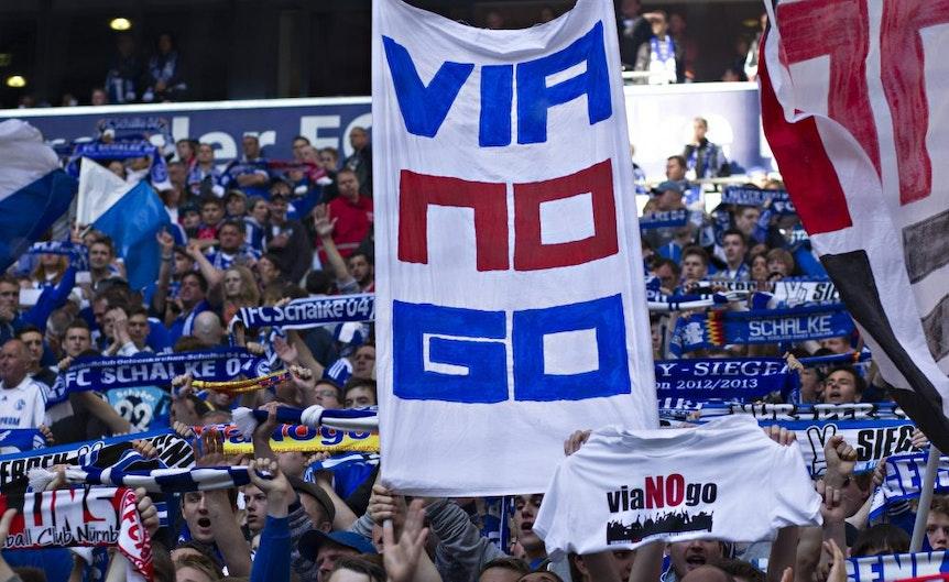 Bei Schalke wurde aus Viagogo Vianogo. Auch RB Leipzig kann sich mit den Tickethändlern nicht anfreunden.