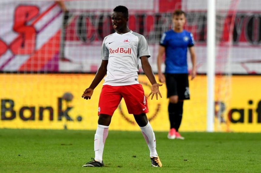 Der Wechsel von Amadou Haidara von Red Bull Salzburg zu RB Leipzig ist nur aufgeschoben, nicht aufgehoben.