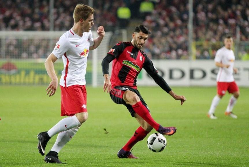 Vincenzo Grifo wird im Rückspiel gegen RB Leipzig ausfallen.