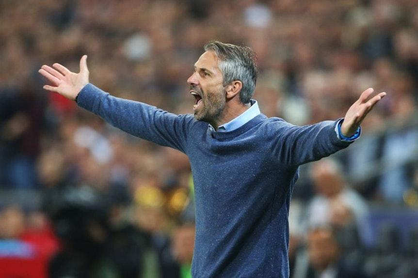 Im coolen Leipziger schlummert ein Vulkan: Marco Rose beim Europa-League-Halbfinale gegen Olympique Marseille