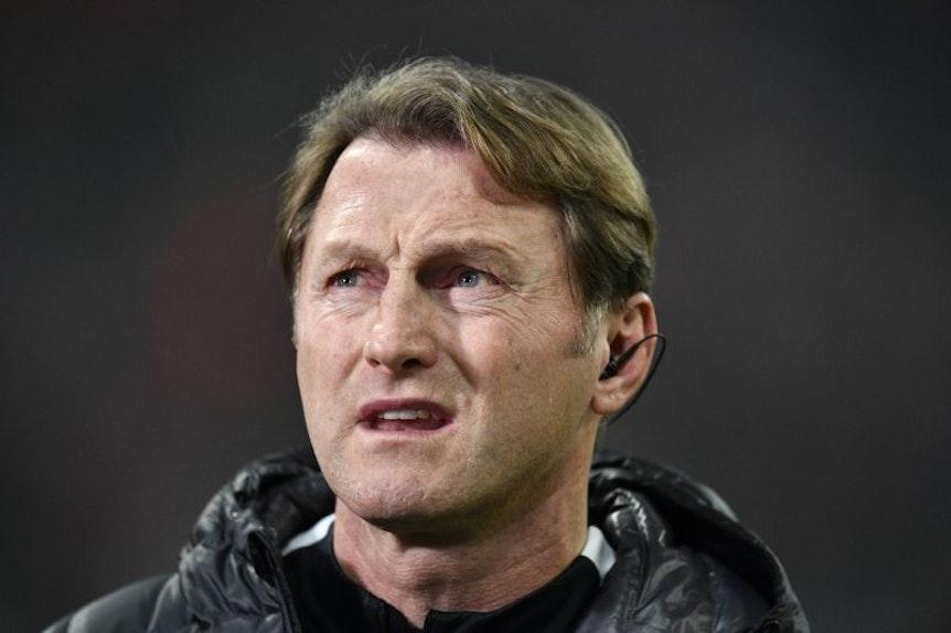 Für Ralph Hasenhüttl ist die Rückrunde bei RB Leipzig nicht nur Grund zur Freude.