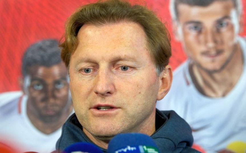 Ralph Hasenhüttl will gegen den SV Darmstadt 98 gewinnen.