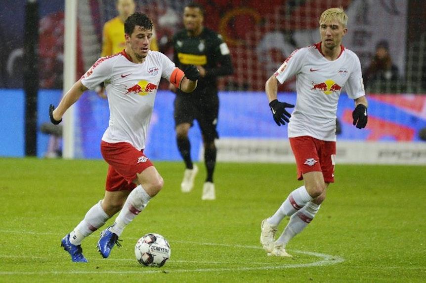Erfolgsduo: Diego Demme und Kevin Kampl können gegen Bayern München spielen.