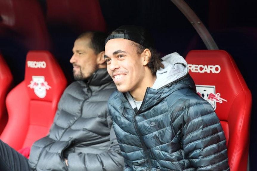 Yussuf Poulsen fehlt RB Leipzig für eine alternative im Spiel.