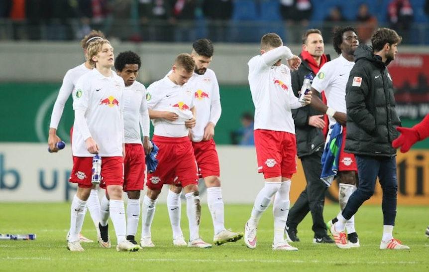 """Ralph Hasenhüttl: """"RB Leipzig spielt eine ganz normale Bundesligasaison""""."""
