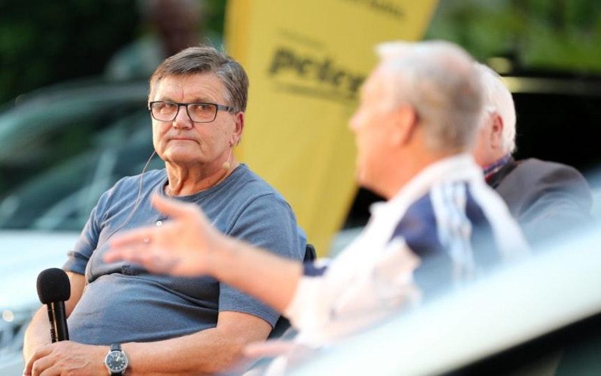 Hans Meyer äußert sich gerne auch mal zu RB Leipzig.