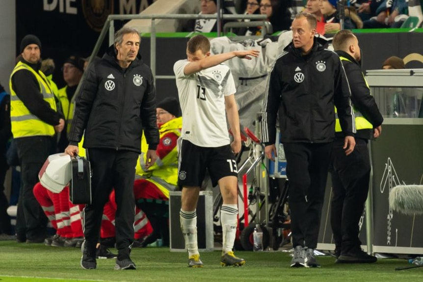 Lukas Klostermann wurde in der Schlussphase ausgewechselt.