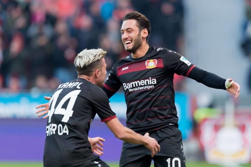 Einen Fan hätte Hakan Calhanoglu bei RB Leipzig in jedem Fall.