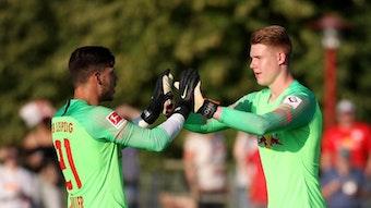 Die Torhüter Nummer drei und vier gehen: Marius Müller und Julian Krahl