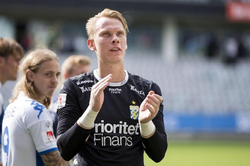 Pontus Dahlberg weckt das Interesse europäischer Vereine. Ist RB Leipzig auch darunter?