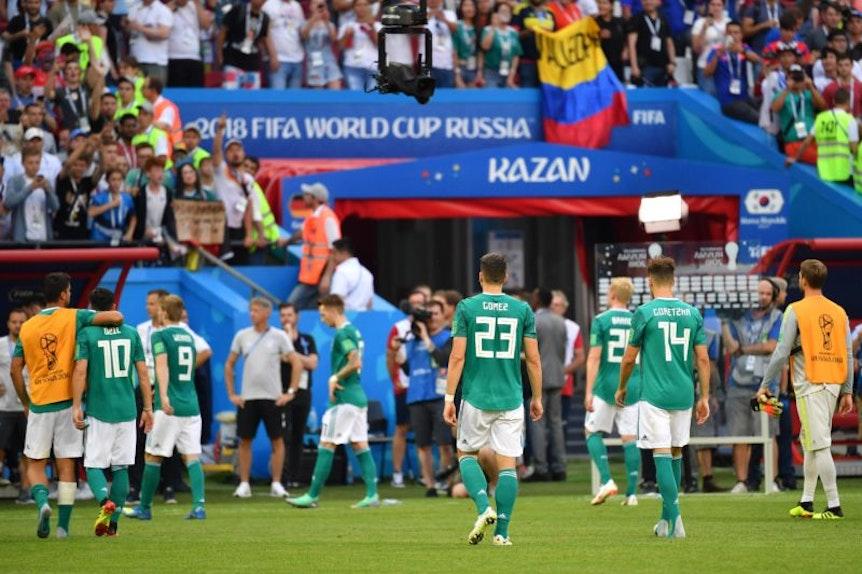 Ballbesitz-Opfer: Die DFB Elf.