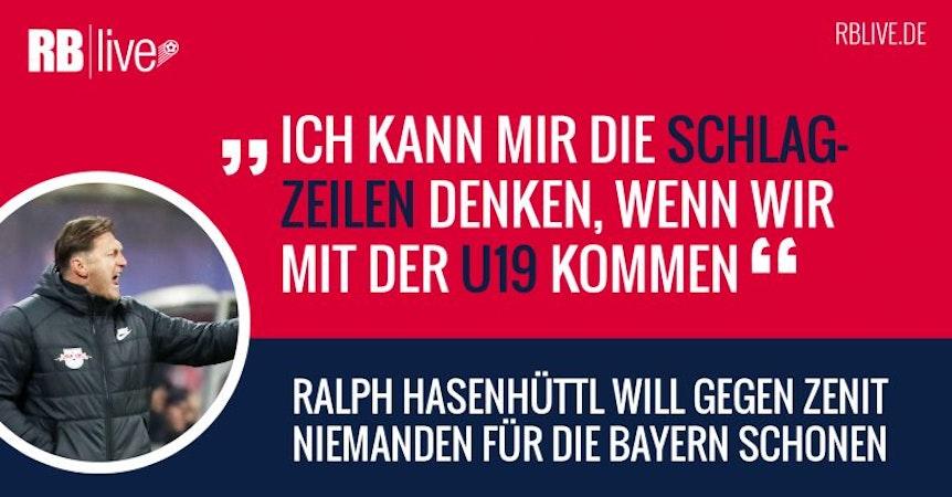Zitat: Ralph Hasenhüttl