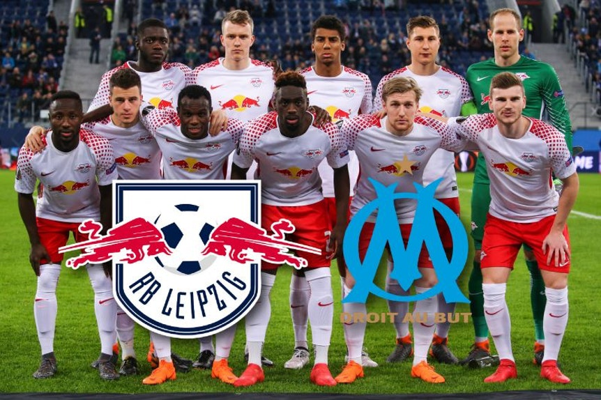RB Leipzig trifft auf Olympique Marseille.