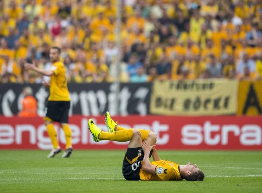 Da legt es dich nieder: Dynamo Dresden ist in Sachsen nur noch die Nummer 2 hinter RB Leipzig.