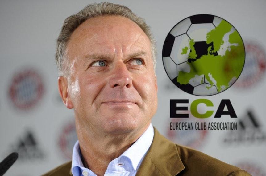 Während RB Leipzig dazukommt, verabschiedet sich Karl-Heinz Rummenigge gerade nach neun Jahren vom Vorsitz in der ECA.