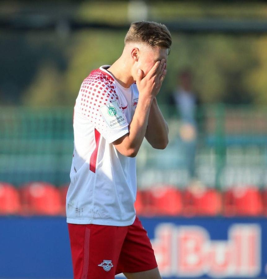 Marcel Hoppe und RB Leipzig sind aus der Youth League ausgeschieden.