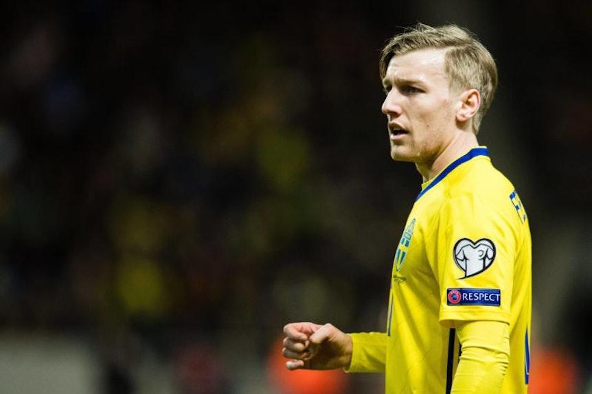 Emil Forsberg verlässt das schwedische Team und kehrt vorzeitig zu RB Leipzig zurück.