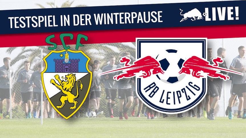 Testspiel zwischen dem SC Freiburg und RB Leipzig