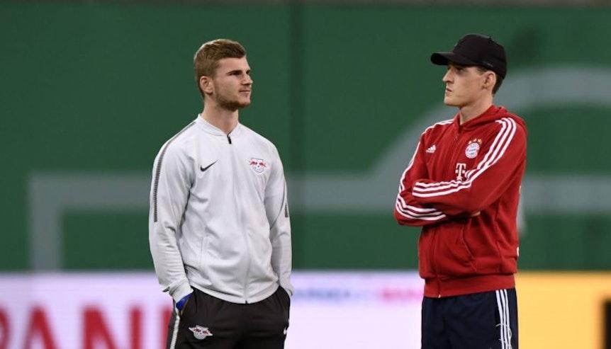 Mal in Leipzig umgesehen? DFB-Team-Kollege Timo Werner wird Sebastian Rudy den Wechsel nach Leipzig empfehlen.
