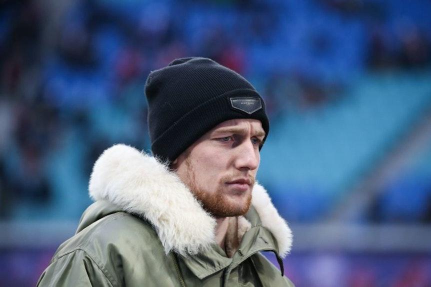 Emil Forsberg verpasste bei RB Leipzig neun Spiele mit einer Bauchmuskelzerrung.