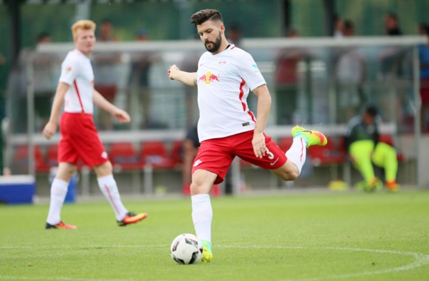 Anthony Jung hat im Trikot von RB Leipzig keine Perspektive und könnte dauerhaft zu Bröndby IF wechseln.