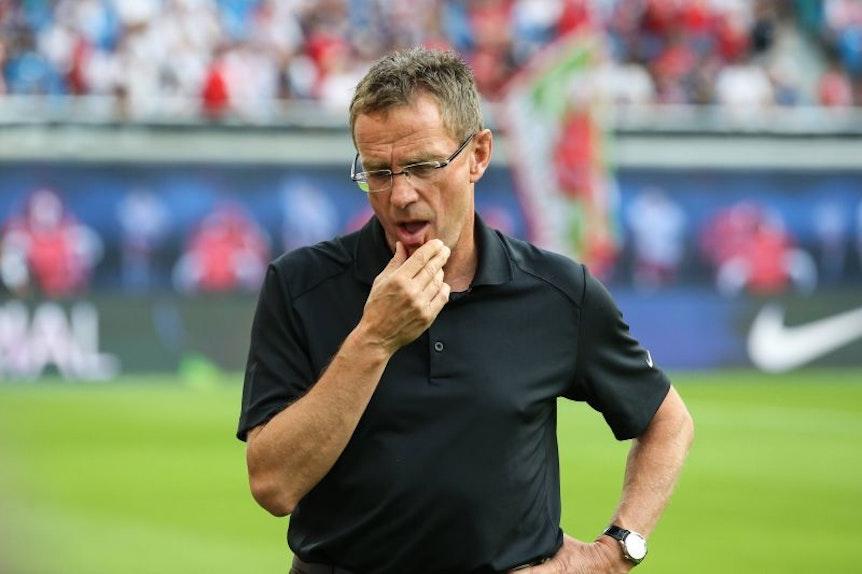 Ralf Rangnick muss sich Gedanken machen, wie er es schaffen kann, Timo Werner kurzfristig von einer Vertragsverlängerung zu überzeugen.